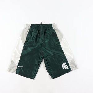 Nike Mens Small Michigan State Spartans Shorts